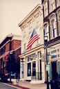 Upbeat Cafe and Music Venue - Georgetown, Kentucky Royalty Free Stock Photo