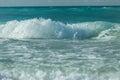 Upcoming storm at Santa Maria Cuban island, force of nature Royalty Free Stock Photo
