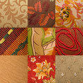 Upholstery fabric Stock Photos