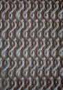 Upholstery fabric with embossed design Royalty Free Stock Image