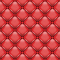 Upholstery vector red leather image contains gradient mesh Royalty Free Stock Photography