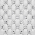 Upholstery white leather pattern d illustration Stock Image