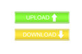 Upload download color button Royalty Free Stock Photo