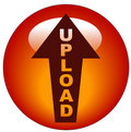 Upload icon or button Royalty Free Stock Image