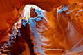 Upper Antelope Slot Canyon in Arizona. Royalty Free Stock Photo