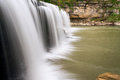 Upper cataract falls sideview indiana s as viewed from the side Royalty Free Stock Image