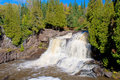 Upper gooseberry falls Royalty Free Stock Photography