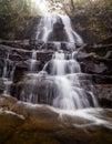 Upper Laurel Falls Royalty Free Stock Photo