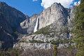 Upper And Lower Falls Yosemite...
