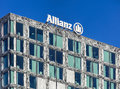 Upper part of the Allianz Suisse building in Wallisellen, Switze Royalty Free Stock Photo