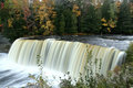 Upper Tahquamenon water falls Stock Image