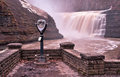 Upper Waterfall of the Genesee River Royalty Free Stock Photo