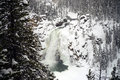 Upper Yellowstone Falls Royalty Free Stock Photo