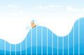 Ups and Downs Royalty Free Stock Photo