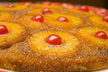 Upside down cake Royalty Free Stock Image