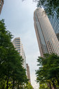Uptown charlotte north carolina cityscape southend Stock Images