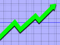 Upward Trend Stock Photography