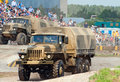 URAL-4320 family trucks Stock Photo