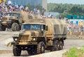 URAL-4320 family trucks Stock Photo