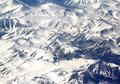 Ural mountains aerial view of the polar Royalty Free Stock Photography