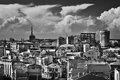 Urban agglomeration buildings on the seaside town constanta romania Stock Photo