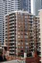 Urban Apartment Building Royalty Free Stock Photography