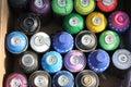 Urban Art - Spray Paint Royalty Free Stock Photo