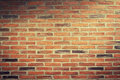 Title: Urban background, red brick wall
