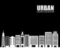 Urban city design Stock Image