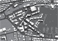 Urban city map street topview Royalty Free Stock Photography