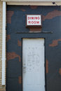 Urban Decay Doorway Royalty Free Stock Photo