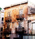 Urban decay in Taranto Royalty Free Stock Photo