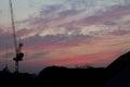 Urban Evening Sky Royalty Free Stock Photo