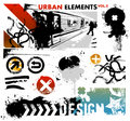 Urban graphic elements 2 Stock Photo