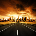 Urban Highway Royalty Free Stock Photography