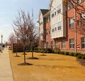Urban housing revitalization project pictured here is a section of a very successful in memphis tennessee Stock Image