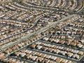 Urban housing sprawl. Royalty Free Stock Photo