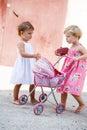 Urban kids Royalty Free Stock Photo
