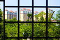 Urban landscape beautiful living environment hainan island haikou city china Stock Photos