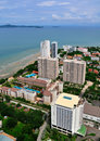 Urban Landscape of Pattaya city, Thailand Royalty Free Stock Images