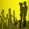 Urban Love Royalty Free Stock Image