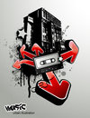 Urban Music Illustration