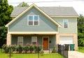 Urban Petite Single Family Home Royalty Free Stock Photo