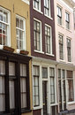 Urban Row Houses Royalty Free Stock Photo