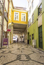 Urban scene in Aveiro, Portugal Royalty Free Stock Photography
