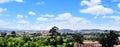 City panorama. Royalty Free Stock Photo