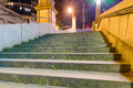 Urban scene of stairs Royalty Free Stock Photo