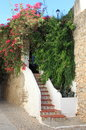 Urban scenic of ibiza town spain Royalty Free Stock Photos