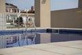 Urban swimmingpool Royalty Free Stock Photo