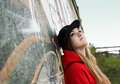 Urban Teenager Romantic Girl Royalty Free Stock Image